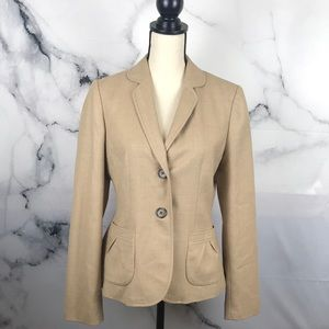Banana Republic stretch wool fully lined blazer